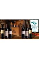 Vino Estuche 6 Botellas + Decantador