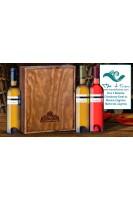 Vino 3 Botellas: Chardonay-Xarelo, Muscat de Llágrima, Merlot de Llágrima